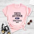 fashion English print shortsleeved Tshirt NHZN369005