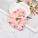 korean style small floral fabric folds elastic hair rope NHCL367416