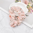 korean style retro small floral hair rope NHCL367417