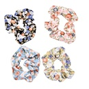 Korean style floral fabric hair rope NHCL367419