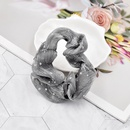 Korean style breathable mesh hot silver small star fabric hair rope  NHCL367423