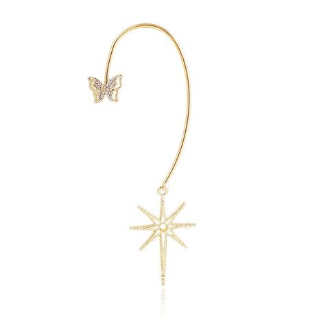 Boucles d'oreilles pendentif étoile papillon à la mode NHJJ367450's discount tags