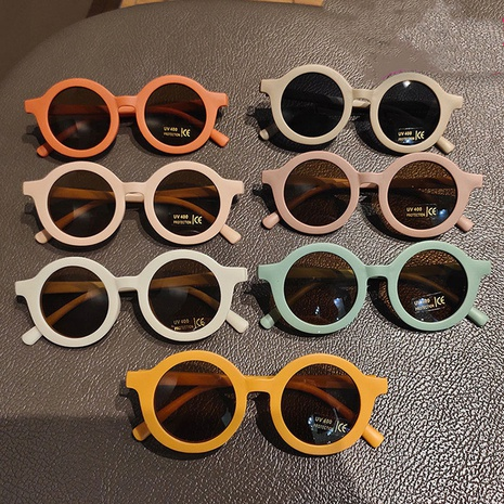 Lunettes de soleil rondes pour enfants couleur rame NHKD333380's discount tags