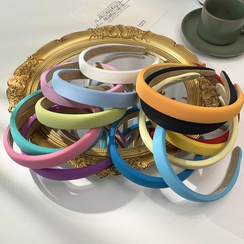 Simple candy-colored thin hairband wholesale  NHOF367535
