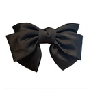 Korean style solid color bow hairpin wholesale  NHOF367547