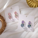 Fashion Transparent Crystal Strawberry Earrings Necklace NHMS367560