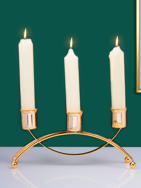new simple wrought iron candle holder wholesale  NHLAW368388's discount tags
