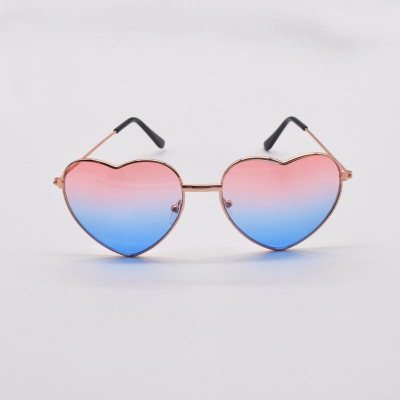 fashion heartshaped metal frame sunglasses NHNT367821