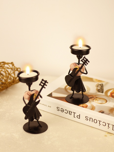Creative wrought iron candlestick decoration wholesale  NHLAW368291's discount tags