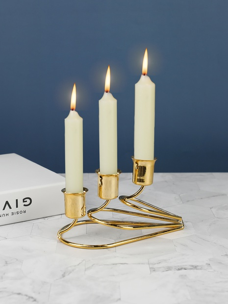 creative home candle candle holder decoration  NHLAW368289's discount tags