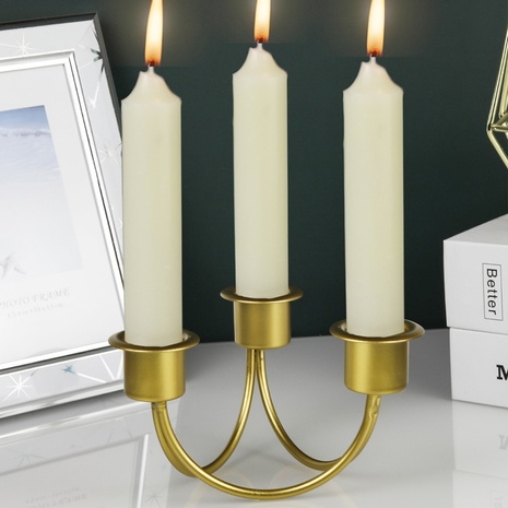 new simple wrought iron candle holder  NHLAW368381's discount tags