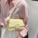 korean style chain buckle messenger oneshoulder armpit bag   NHAV367955