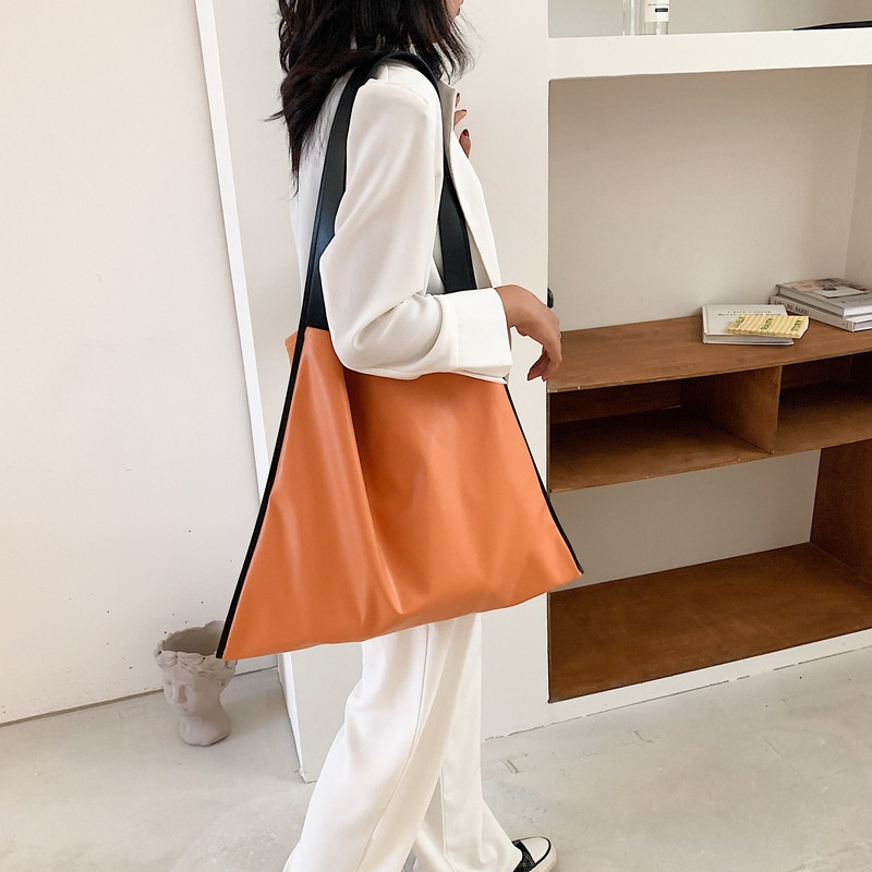 Korean style largecapacity oneshoulder tote bag   NHJZ367971