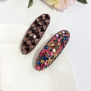 fashion geometric rhinestone hairpin wholesale  NHWF368095