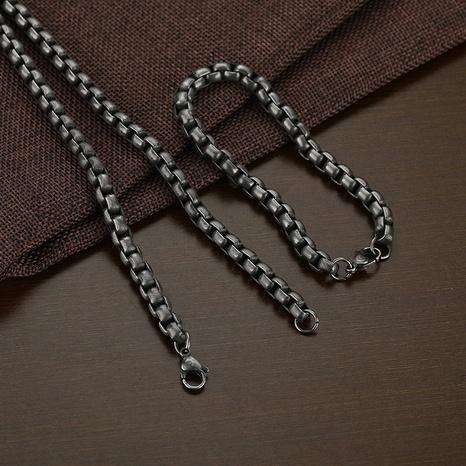 Retro dickes quadratisches Perlenkettenarmband Großhandel NHHF368242's discount tags