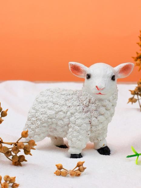 Cartoon little sheep art ornament  NHLAW368846's discount tags