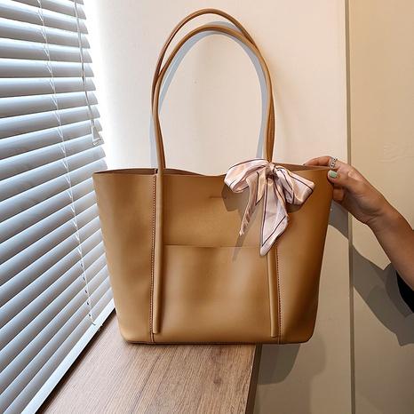 new Korean silk scarf decoration large capacity handbag NHLH368308's discount tags