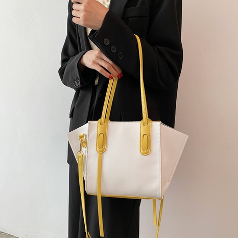 simple contrast color large-capacity bag wholesale  NHWH368411's discount tags