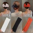 Korean style cloth Bowknot Twisting Headdress  NHOF368432