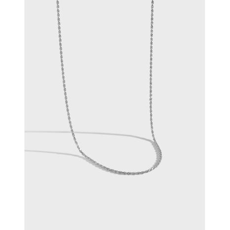 Halskette im koreanischen Stil mit Knopfverdrehung NHFH368540's discount tags