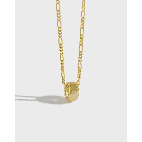 Geometrische runde Perlenkette im koreanischen Stil NHFH368542's discount tags