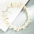 Baroque geometric shell handmade necklace wholesale  NHLN368600