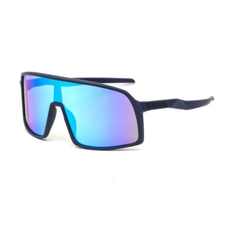 moda deportes polarizados gafas de sol de montura grande NHLMO369019's discount tags