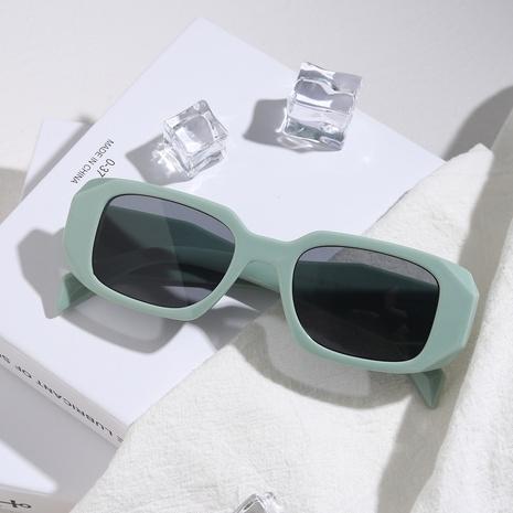 Gafas de sol multicolor con montura poligonal de rombo cuadrado de moda NHXU369027's discount tags