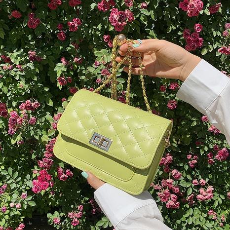 fashion candy color lingge messenger bag NHJZ369066's discount tags