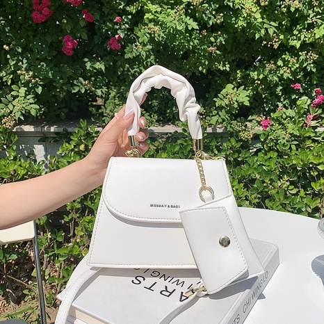 fashion solid color square messenger bag NHJZ369068's discount tags