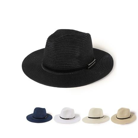 Korean fashion belt bucklet wide-brimmed sunshade straw hat  NHTQ369086's discount tags