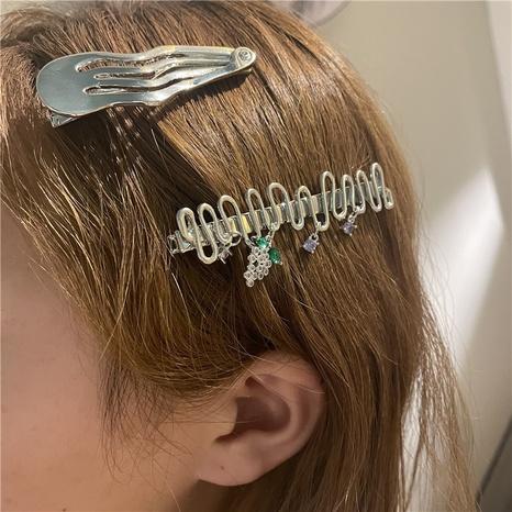 Korea's style Wavy Fruit Vine Metal Hairpin  NHYQ369256's discount tags