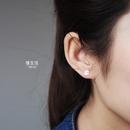 Korean style cute little ghost earrings  NHHER369380