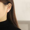 Korean style brushed star earrings  NHHER369387
