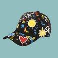 NHTQ1709826-Sun-Love-Baseball-Cap-Black-adjustable
