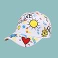 NHTQ1709827-Sun-Love-Baseball-Cap-White-adjustable