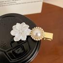 Korea style shell pearl flower hairpin NHCQ369468
