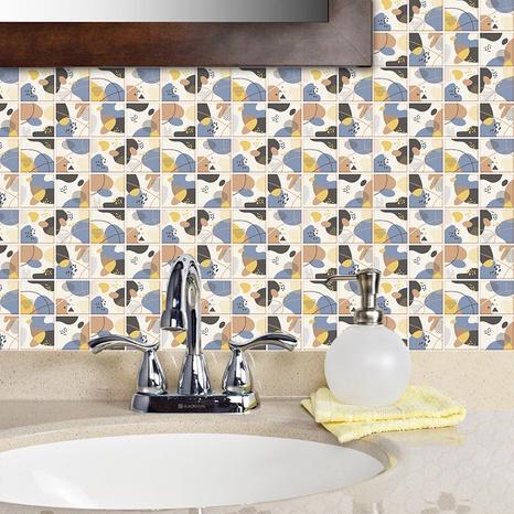 Aufkleber für die Renovierung von Gitterfliesen mit koreanischem Muster NHAF369521's discount tags