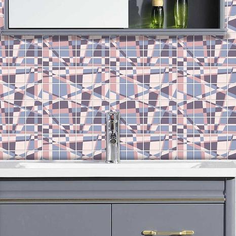 Autocollants muraux de décoration de carreaux de treillis à motif simple NHAF369523's discount tags