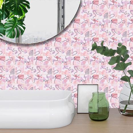 Stickers muraux de rénovation de carreaux de motif de ligne de mode NHAF369526's discount tags