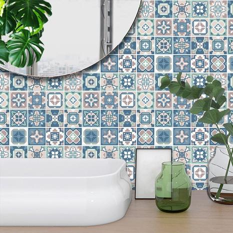 stickers muraux de décoration de motifs de couleurs contrastées géométriques ethniques NHAF369546's discount tags