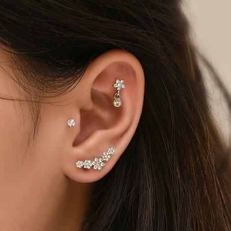 wholesale jewelry simple multi-piece earrings set Nihaojewelry NHAJ374672's discount tags
