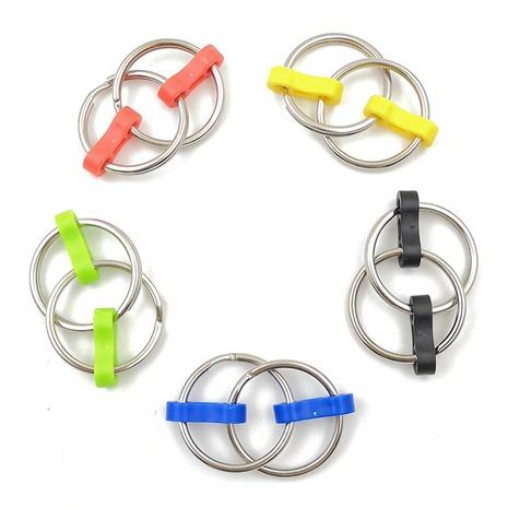 Fingertip key chain unzip key chain Fidget chain key ring bicycle chain NHZHI369600's discount tags