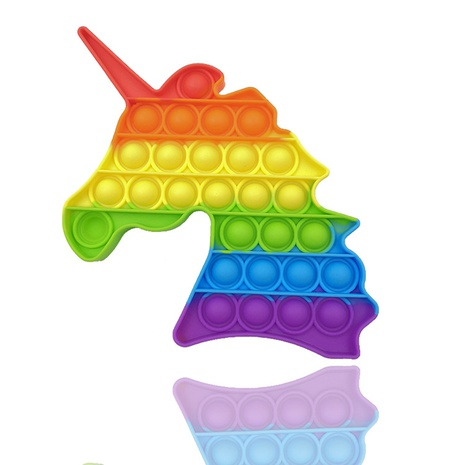 Pioneer color unicorn I am a master child thinking training decompression toy NHZHI369608's discount tags