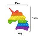 Unicornio de color pionero Soy un juguete de descompresin de entrenamiento de pensamiento infantil maestro NHZHI369608
