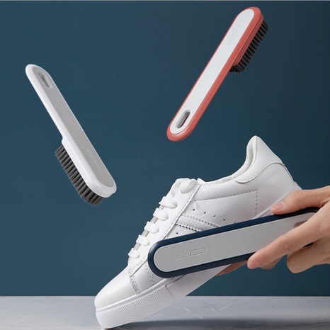 Simple soft bristles household shoe-washing brush NHYUE369619's discount tags
