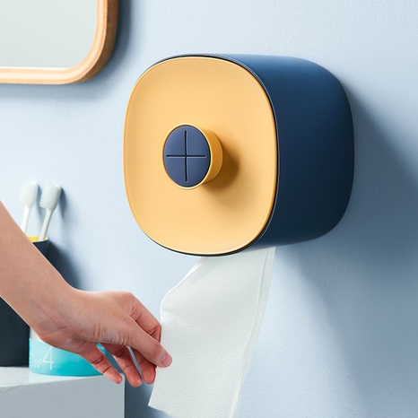 Simple Perforation-Free Cleansing Towel Wall-mounted Box NHYUE369624's discount tags