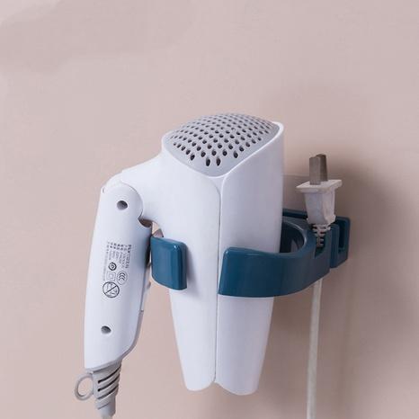 simple bathroom multi-purpose free punching hair dryer holder  NHYUE369629's discount tags