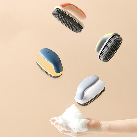Fashion soft bristles multifunctional cleaning laundry brushes NHYUE369633's discount tags