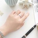 fashion geometric opening adjustable ring wholesale NHHER369371
